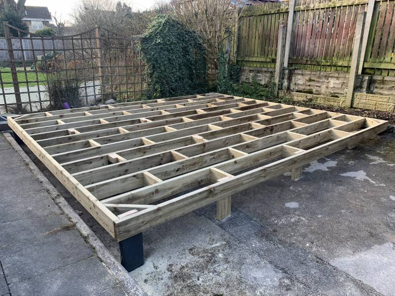 Timber Building Base