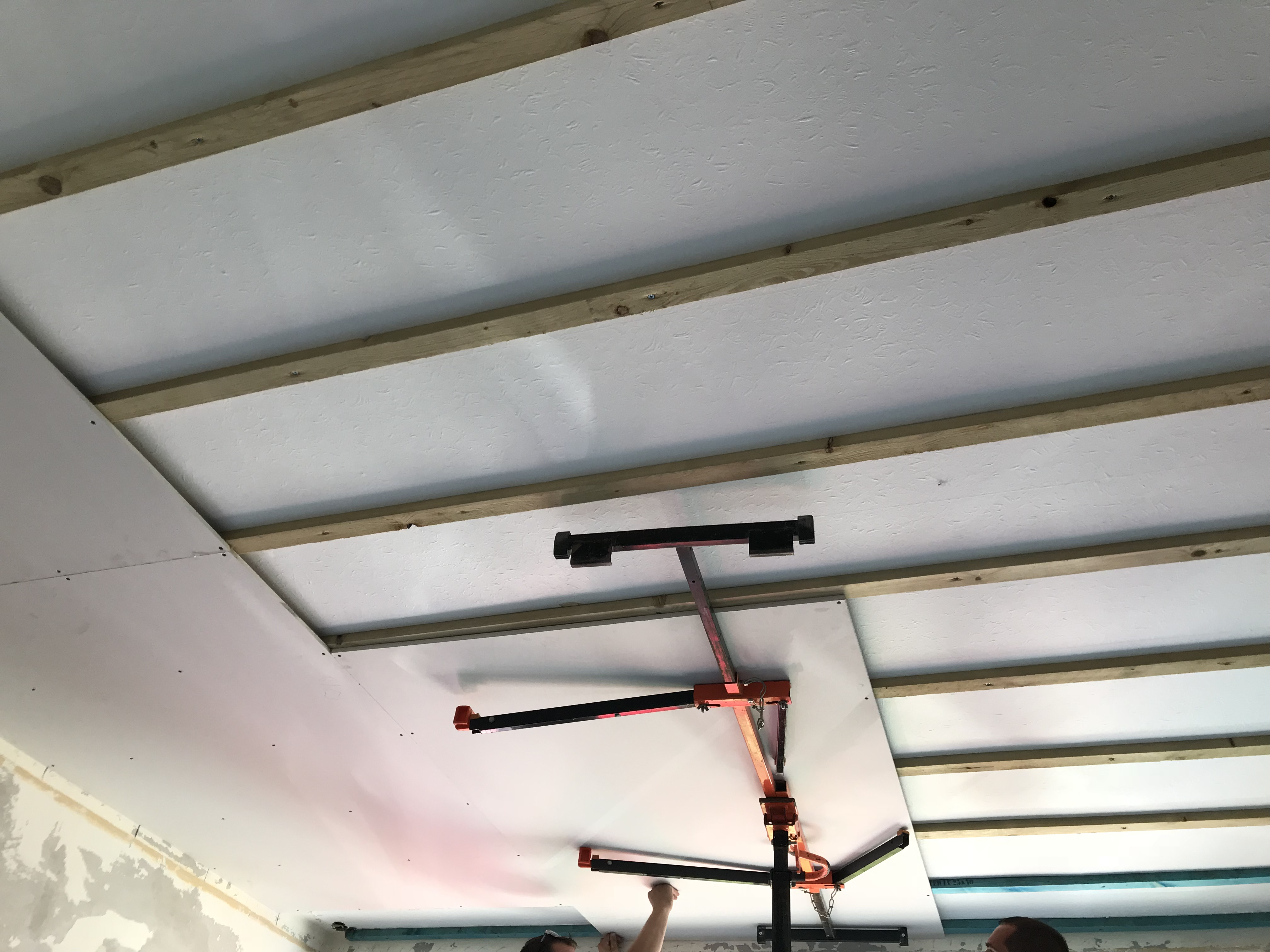 Ceiling Overboarding